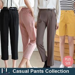 ●Casual Pants● Korea Fashion / Pants / Plus Size / Women Fashion / Lady / First Lady Store