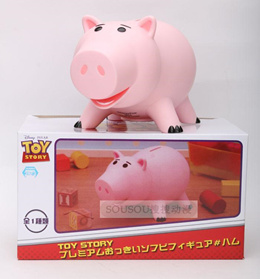 Disney produced Disney toy story doll pink piggy bank ornament gifts