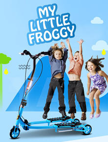 New Froggy Style Kids Scooter * Safe * Quality Built * Foldable * Height adjustable handle