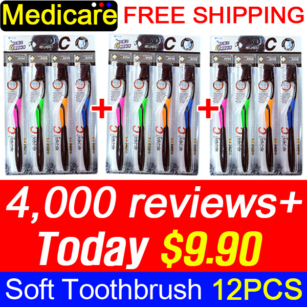 [Crazy Deal] ?6th RESTOCK? 1+1+1 Medicare Gold Charcoal Nano Toothbrush 4P / Nano Anti-Bacteria Deals for only S$59 instead of S$0
