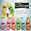 Get 3 pcs_[FRANCE FRUIT SHOWER]Cottage Shower Gel(Mini Trial) 50 ml