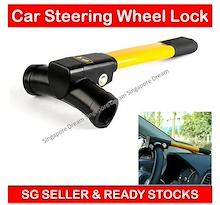 Universal Automotive Anti Theft Car Security Rotary Steering Wheel Safety Lock Fits All Car
