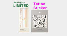 ◈Innisfree◈ Self Nail Sticker - Body Tattoo / Ready to Halloween Party