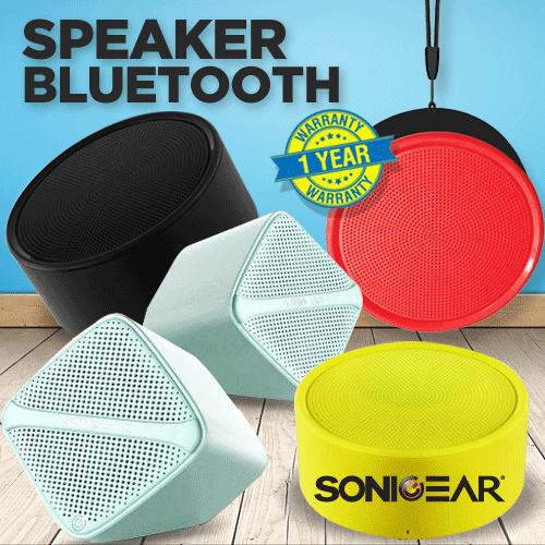 Sonicgear Mini Speaker Series | Bluetooth Speakre | USB Speaker | 1 Year Warranty Deals for only Rp29.000 instead of Rp29.000