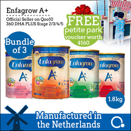 [Enfagrow A+] [3 tins bundle] Stage 2/3/4/5 1.8kg *GIFT WITH PURCHASE* BEST PRICE