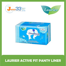 Laurier Active Fit Panty Liners - Non-Scented [40 Pads]