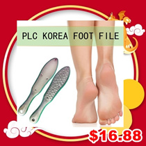 RETAIL $68!!!  PLC ] KOREA STAINLESS STEEL FOOT FILE / NAIL SALON SELL $68-$128! / NON RUST
