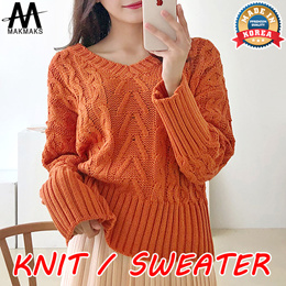 ★★ Adorable Hight Quality knit Sweater★★women fashion/Spring/Fall/Winter/Round/V-neck/Turtle