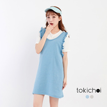 TOKICHOI - Pinafore with Ruffle Detailing-171423