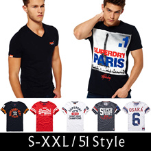 BEST SERIES ◆Super Dry  Men Short Sleeve T shirts◆Tops/Cotton/Comfortable n Casual/Sports/S-2XL size