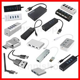 ★Fast Shipping★Type C Type-C USB 3.1 3.0 HUB Adapter Cable HDMI VGA Wifi DVI Lan Card Reader Display