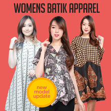 Midi Dress Tunik Batik Collection