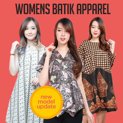 Midi Dress Tunik Batik Collection Deals for only Rp65.000 instead of Rp65.000