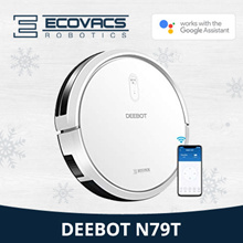 [LOCAL 1 Year WARRANTY] ECOVACS Deebot N79T Robot Vacuum Cleaner+ GoogleHomeSupport+AppsControl