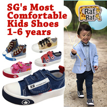 BK TO SCHOOL!! [RAF RAF]★1-6yr Kids Shoes★Boys Girls Baby Shoes★Soft Sneakers★Wet Wipes Diapers