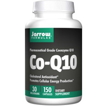 Jarrow Formulas Co-Q10 30 mg 150 Capsules