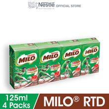 MILO ACTIV-GO Chocolate Malt RTD 4 Packs 125ml Each