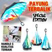 Payung terbalik - Inverted umbrella - handle C - kualitas terbaik harga termurah