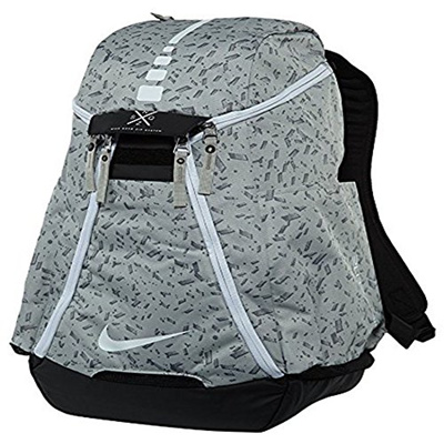 4ab9bee76c Nike Hoops Elite Max Air Team 2.0 Basketball Backpack Pale Grey Black White