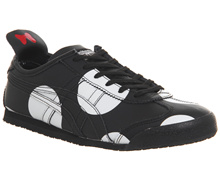 Onitsuka Tiger Mexico 66 Trainers Minnie Black Black