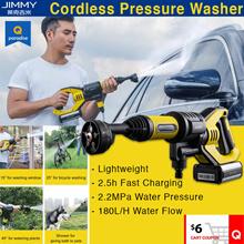 Xiaomi JIMMY JW31 Car Flush Gun Washing Gun JW31 Wireless Cordless Water Power Cleaner Garden Wash
