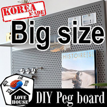 Xmas Gift ★Big size steel Pegboard★Sticker Wallpaper decoration book shelf shelves organiser kitchen