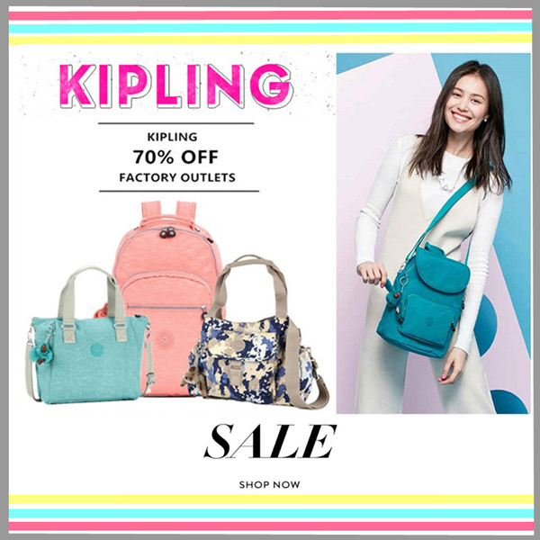 Authentic Kipling USA on Sale Deals for only Rp792.600 instead of Rp792.600