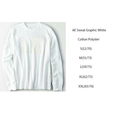 AEMen Sweat White