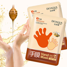 Honey Foot Mask Spa for smooth hands (1 pair in each pack)