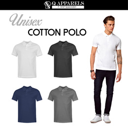 ★ COTTON POLO ★ UNISEX/ SUITABLE FOR MEN AND WOMEN/ NEW ARRIVALS/ BEST BUY/ WHOLESALE/ Size XS-XXL/