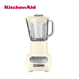 Artisan Glass Blender with 1.5 L Glass Pitcher and 0.75 L Culinary Jar - Almond Cream [5KSB5553BAC]