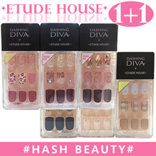 [ETUDE HOUSE]2019 New★1+1★Dashing diva Magic Press Gel nail tips/nail stickers