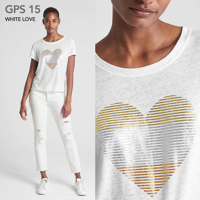 GPS 15 WHITE LOVE
