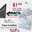 [JD] 2018 New ❤❤❤ Christmas Gifts ❤ Faux Leather Cards Holder Suit for any Smart Phone
