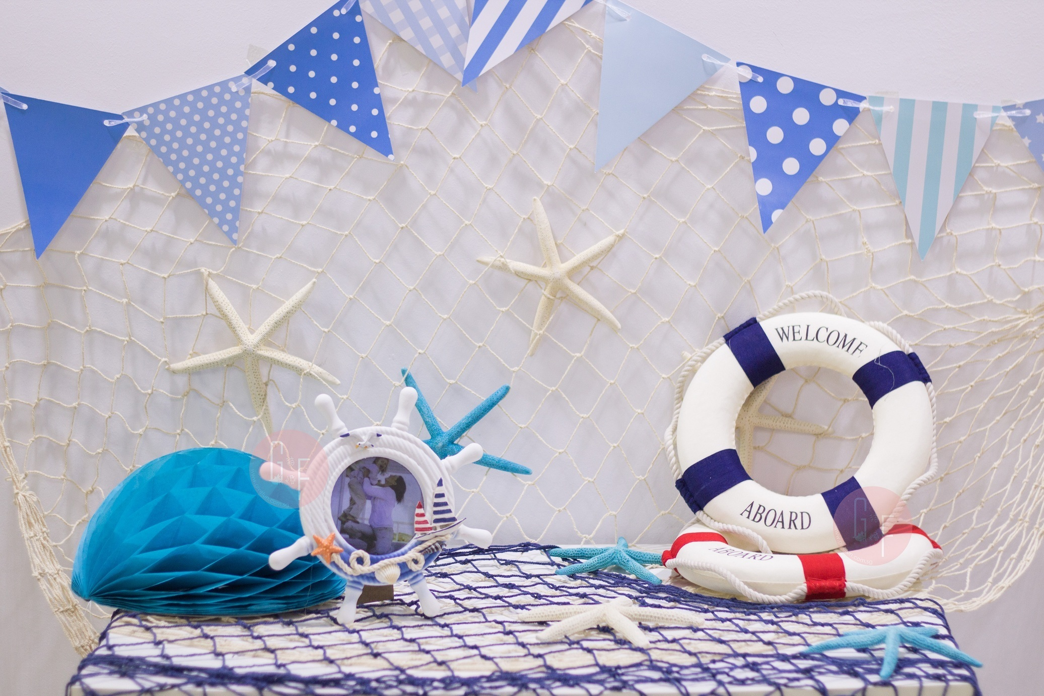 Qoo10 Nautical ThemedParty DecorationWedding ReceptionROM