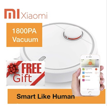★Free Gift Authentic Xiaomi Mi Robot Vacuum Cleaner★ 5200mAh Battery★Apps Control Local Seller