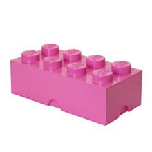 LEGO Storage Brick 8 Stud: PINK (LS-40041739)