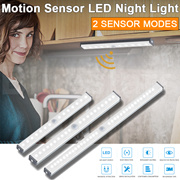 Buy 2 Freeshipping💡LED Night Ligh Motion Sensor / Magnetic Base/USB Rechargeable/Wireless Wall Lamp