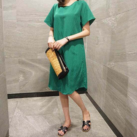 モニカルームボボopsワンピース プリントのワンピース/ 韓国ファッション