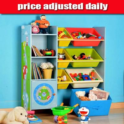 Toy Storage Shelf Book Home With Kids