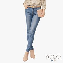 YOCO - Light Washed Skinny Jeans-180381