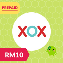 RM10 XOX Prepaid Reload Top Up RM30 RM50