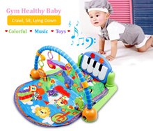 ♥ ENGLISH PACKAGING SALES ♥ Kids Educational Toys ♥ Development Skill ♥ Baby Kick Gym Piano Toys ♥