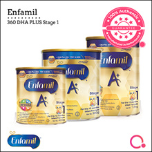 [Enfagrow A+] [SINGLE TIN] Enfamil A+ Stage 1 400g/900g/1.8kg |