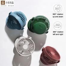 [B2B] solove Sule small fan usb rechargeable portable mini handheld ultra-quiet shaking head desktop fan