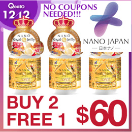 [BUY 2 FREE*1! SUPER DEAL! NO NEED COUPON] ♥ROYAL JELLY PREMIUM  ♥BOOST 3X HAIR GROWTH  ♥NEW ZEALAND