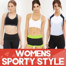 SALE! Sport Wear Collection Good Quality Size S-XXL_Sport Bra_Sport Pants_Shorts_Sport Tee/ pakaian olahraga wanita pakaian wanita