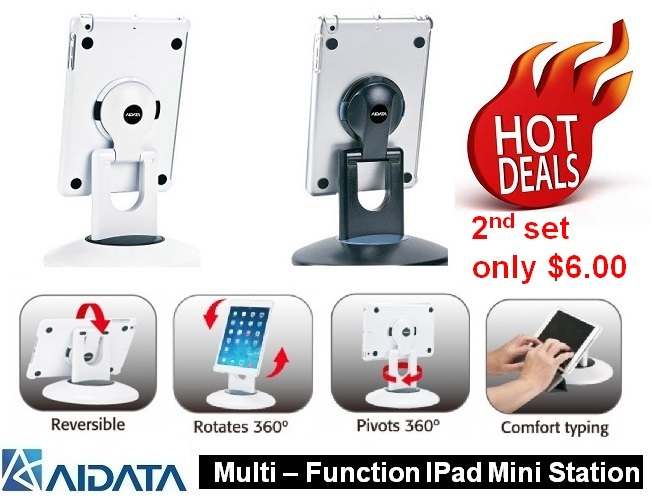 9b16390b718 Aidata Multi-Function Ipad mini Station (Stock Clearance sale!!!) 2nd Sets  only $ 6.00