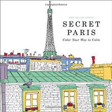 {AUTHENTIC and Popular Colouring Books for Adults} Secret Paris/Splendid Cities/Creative Haven Cat Owls Art Nouveau/The Time Garden/The Time Chamber/Vive le Color Japan