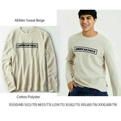 AEMen Sweat Beige